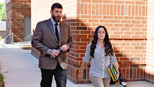 Jenelle Evans & David Eason out and about