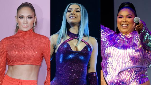 Jennifer Lopez, Cardi B, Lizzo