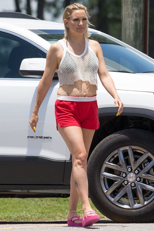 Kate Hudson Crop Top