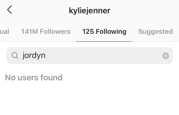 Kylie Jenner unfollowed Jordyn Woods after she was caught dancing with Khloe Kardashian's ex, James Harden on July 24