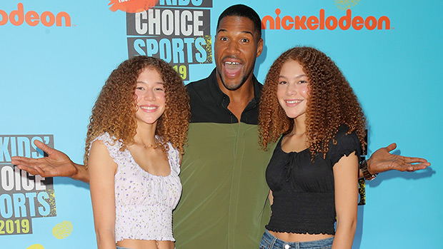 Michael Strahan Twin Daughters kids choice sports awards 2019