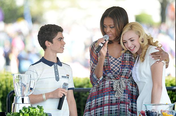 Cameron Boyce, Michelle Obama, Peyton List