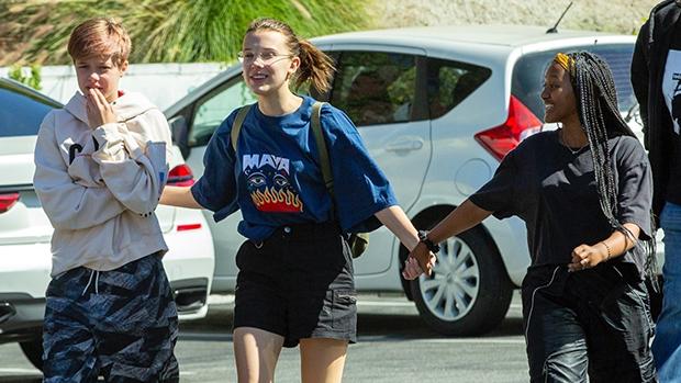 Millie Bobby Brown Zahara Shiloh Jolie-Pitt