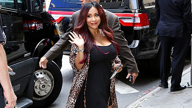 Snooki Shows Off New Hair Makeover Dress 1 Month After Birth Pic Hollywood Life
