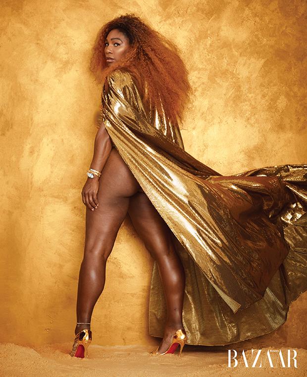 Serena Williams for 'Harper's Bazaar' 2019