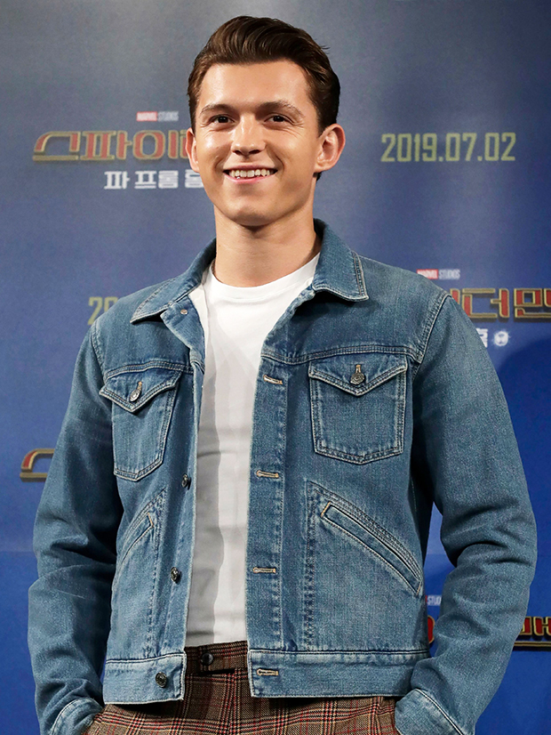Tom Holland at an event