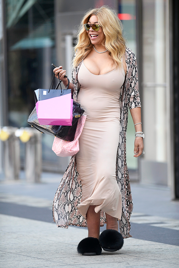 Wendy Williams shopping