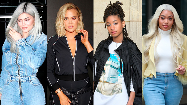 Kylie Jenner, Khloe Kardashian, Willow Smith, Jordyn Woods