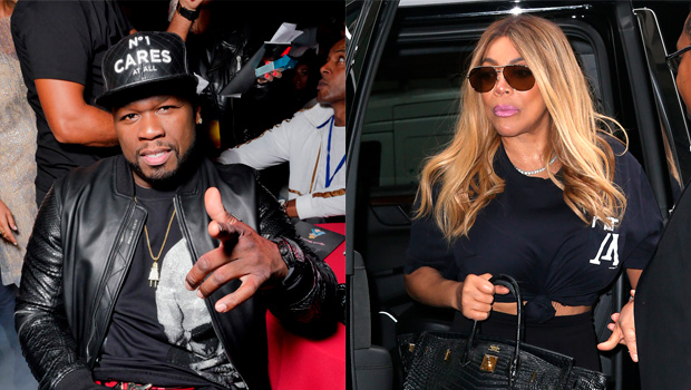 50 Cent reaction to Wendy Williams pool party
