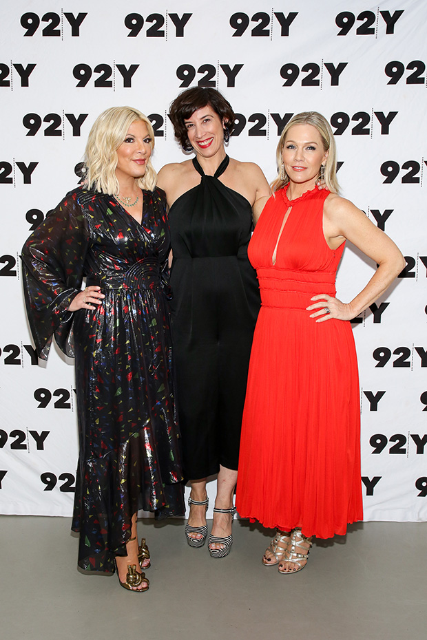 Jennie Garth & Tori Spelling at 'BH90210' event at 92Y NY