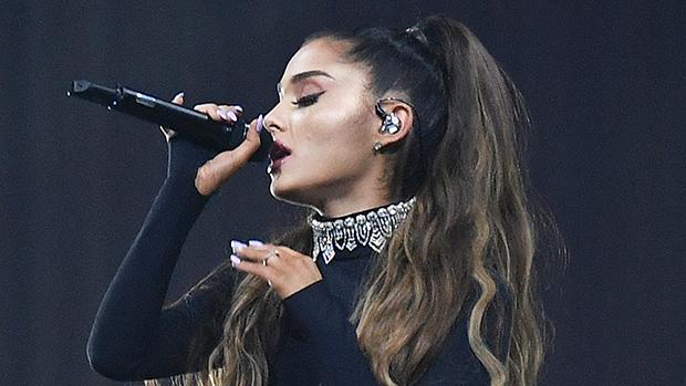 Ariana Grande Natural Hair