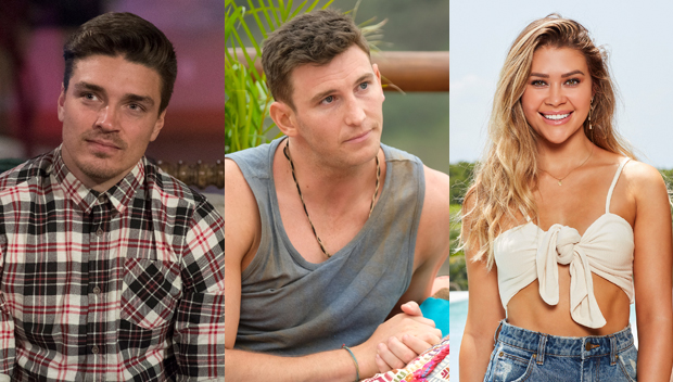 Dean Unglert, Blake Horstmann, Caelynn Miller-Keyes