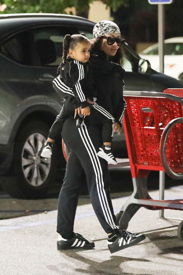 Blac Chyna and Dream Kardashian