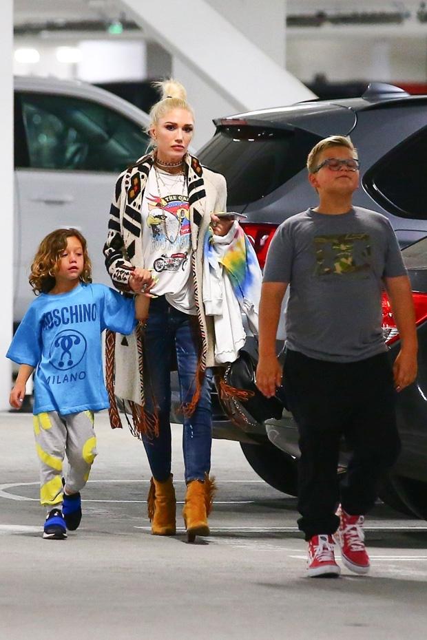 Gwen Stefani Blake Shelton Kids