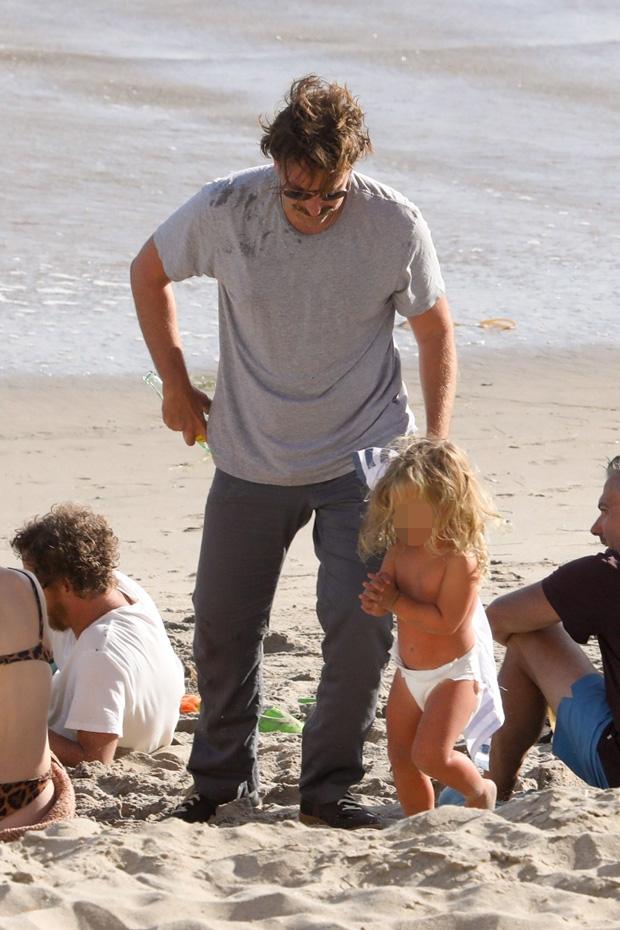 Bradley Cooper and Daughter Lea