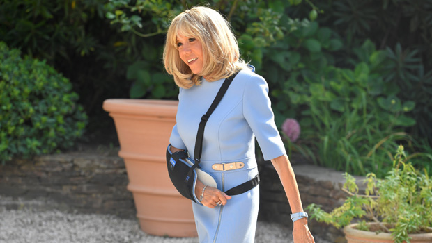 Brigitte Macron Seen After Plastic Surgery Rumors In France Pics Hollywood Life