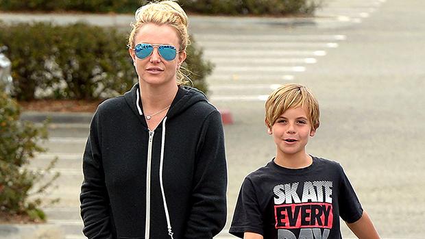 Britney Spears Kids Disneyland Sean Jayden Pics Video