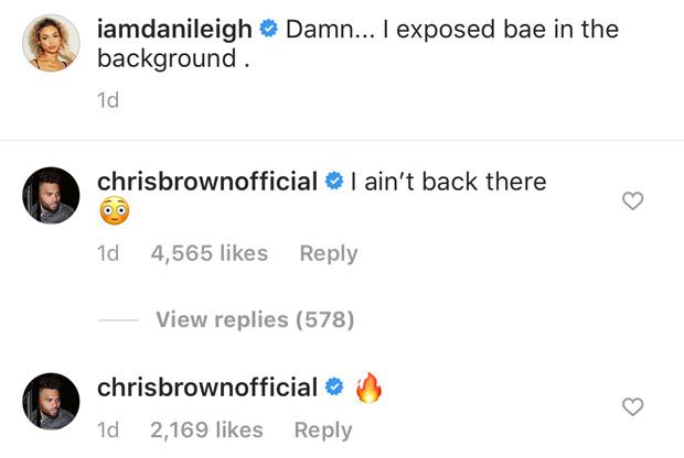 Chris Brown, DaniLeigh