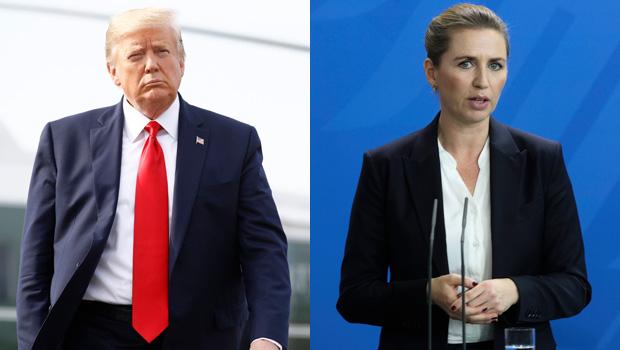 Donald Trump Mette Frederiksen