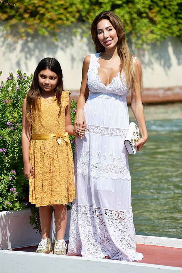 Farrah Abraham & daughter Sophia at the 2019 Venice Film Festival