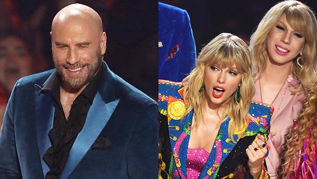 John Travolta, Taylor Swift, Jade Jolie