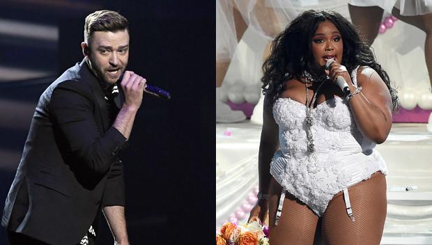 Justin Timberlake and Lizzo