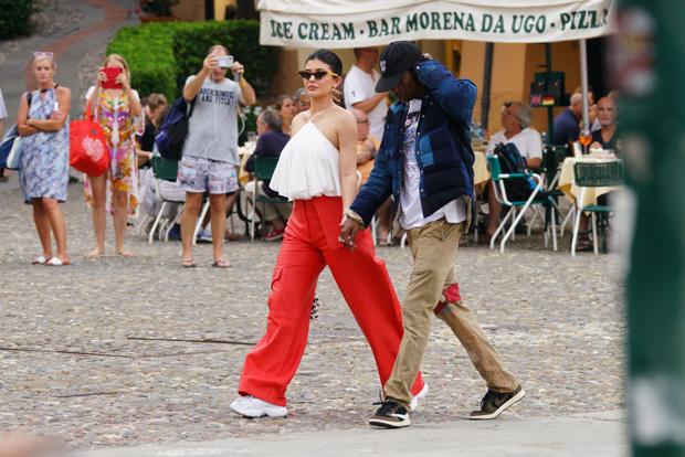 Kylie Jenner & Travis Scott in Italy