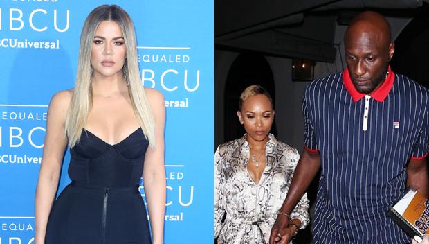 Khloe Kardashian, Lamar Odom and Sabrina Parr
