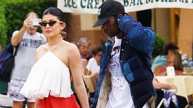 Kylie Jenner Travis Scott Italy