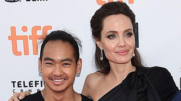 Maddox Jolie-Pitt and Angelia Jolie
