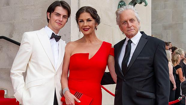 Michael Douglas, Catherine Zeta-Jones & son Dylan