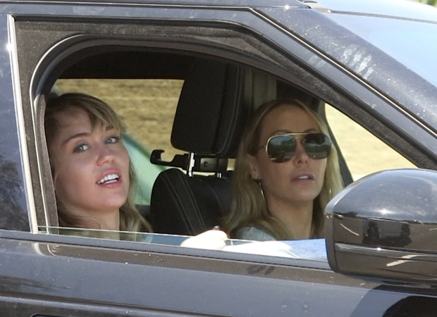 Miley and Tish Cyrus