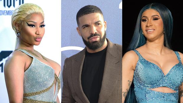 Nicki Minaj, Drake & Cardi B