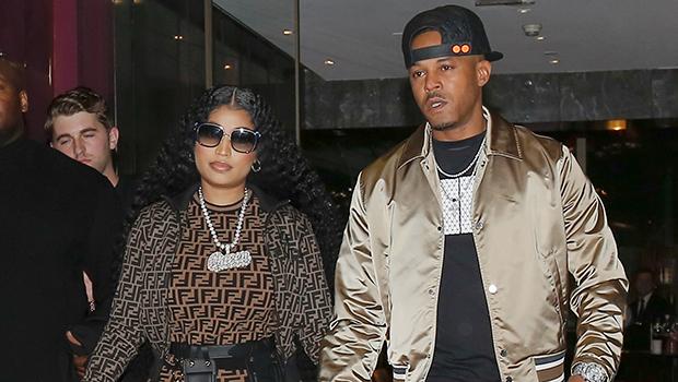 Nicki Minaj & Kenneth Petty holding hands