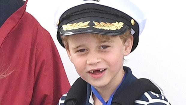 Prince George missing tooth