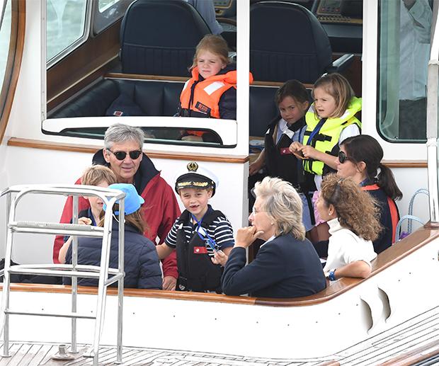 Prince George sailing