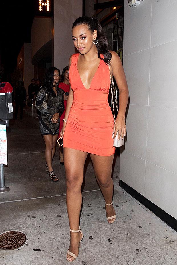 Sela Vave orange dress