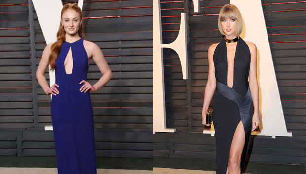 Sophie Turner and Taylor Swift