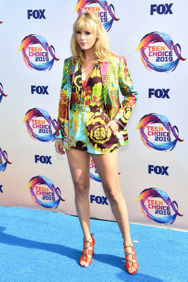 Taylor SwiftTeen Choice Awards, Arrivals, Los Angeles, USA - 11 Aug 2019
