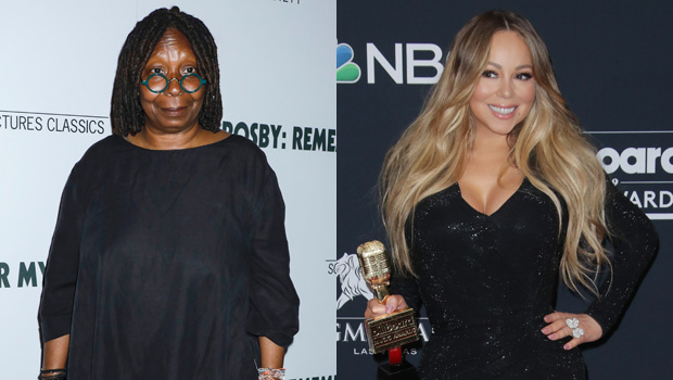 Whoopi Goldberg & Mariah Carey