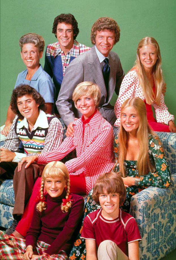 'The Brady Bunch' cast