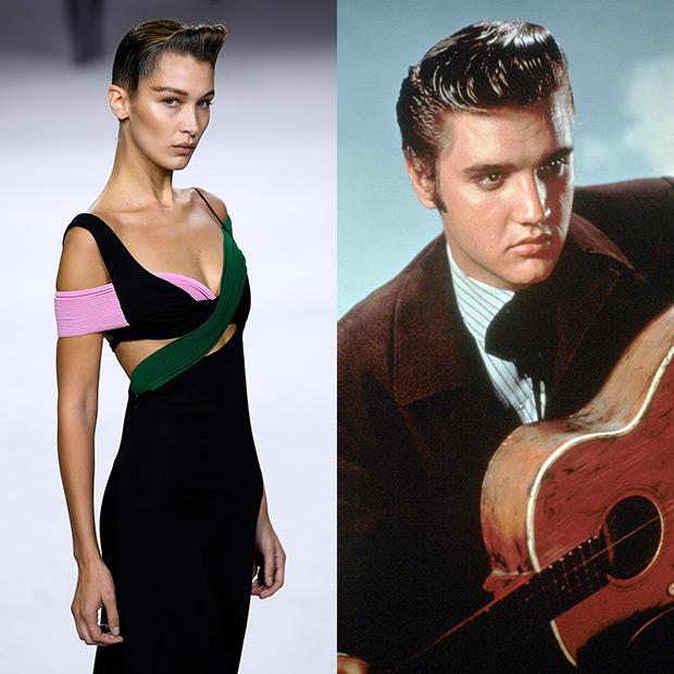 Bella Hadid, Elvis Presley