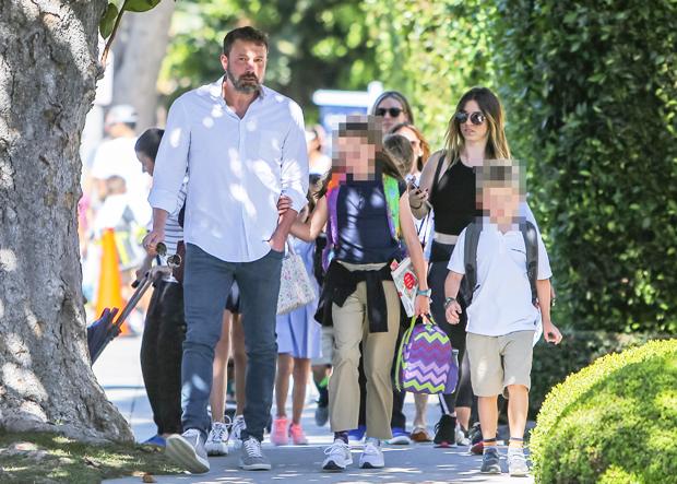 Ben Affleck and kids