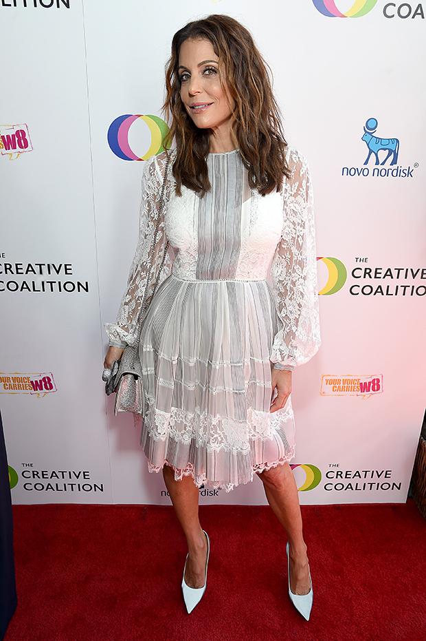 Bethenny Frankel at The Creative Coalition's Television Humanitarian Awards Gala