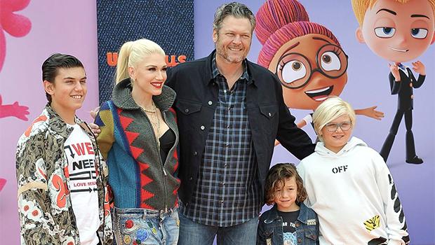 Blake Shelton Gwen Stefani Kids