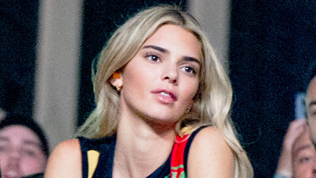 Kendall Jenner goes blonde at fashion week