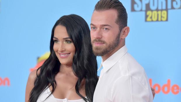 Nikki Bella and Artem Chigvinstev