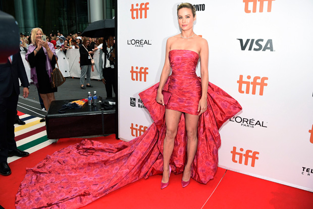 Brie Larson'Just Mercy' premiere, Arrivals, Toronto International Film Festival, Canada - 06 Sep 2019