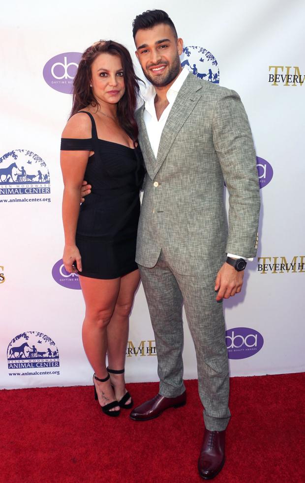 Britney Spears and Sam Asghar