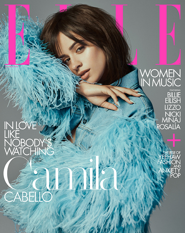 Camila Cabello for 'Elle's October 2019 issue
